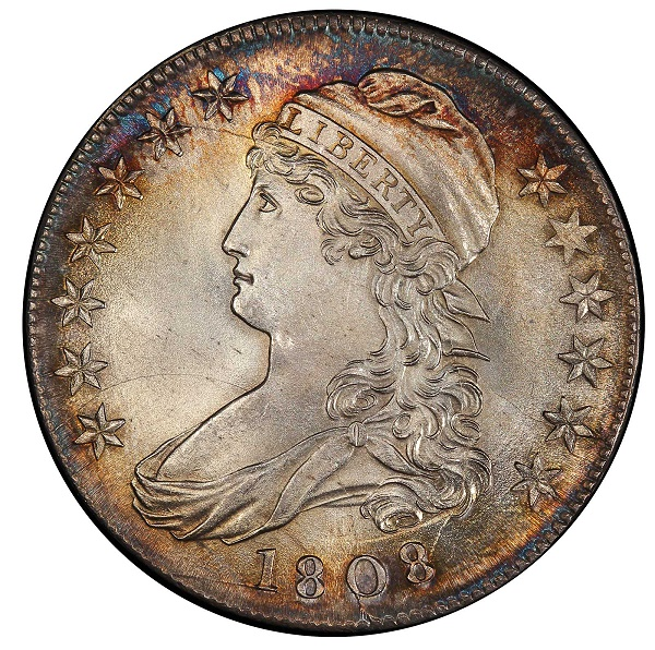 1808 Capped Bust Half Dollar - Browder Collectio
