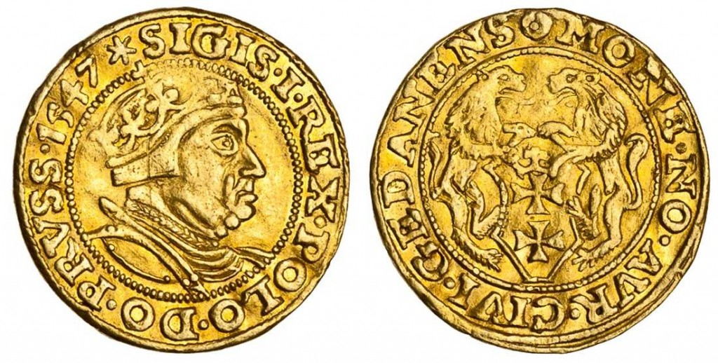 "Poland, Sigismund I ""the Old"" (1506 – 48) Ducat"