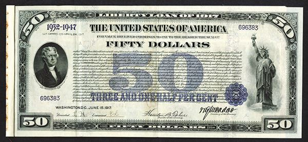 Liberty Loan Bond of 1917