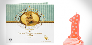 Happy Birthday Coin Set and Birth Set Avail. from U.S. Mint as of Jan. 6