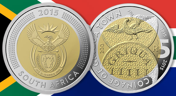 South Africa Commemorates 1st Coinage With 5 Rand Coin