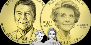 Ronald Reagan Presidential $1 Coin & First Spouse Medal Set Avail. July 5