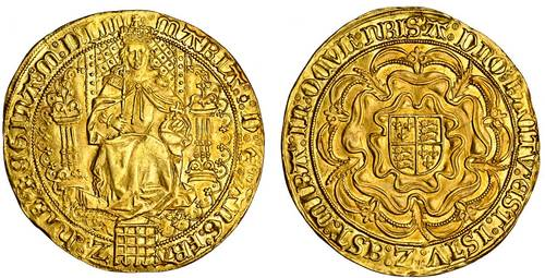 England, Mary I gold sovereign - Spink