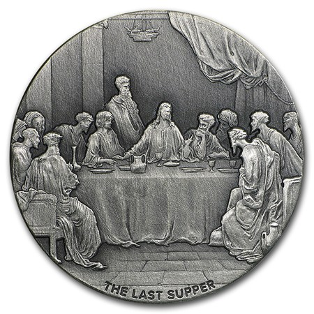 2016 The Last Supper, Biblical Coin Series, exclusively from APMEX