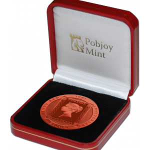 Ascension Island 2016 Penny Red Stamp 175th Anniversary Coin presentation box - Pobjoy Mint