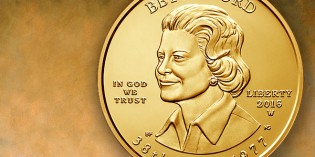 Modern US Coins – Betty Ford First Spouse Gold Coin Avail. March 25