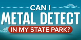 Infographic – Can I Metal Detect in My State Park?