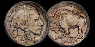 US Coin Pattern –  1913 Buffalo Nickel
