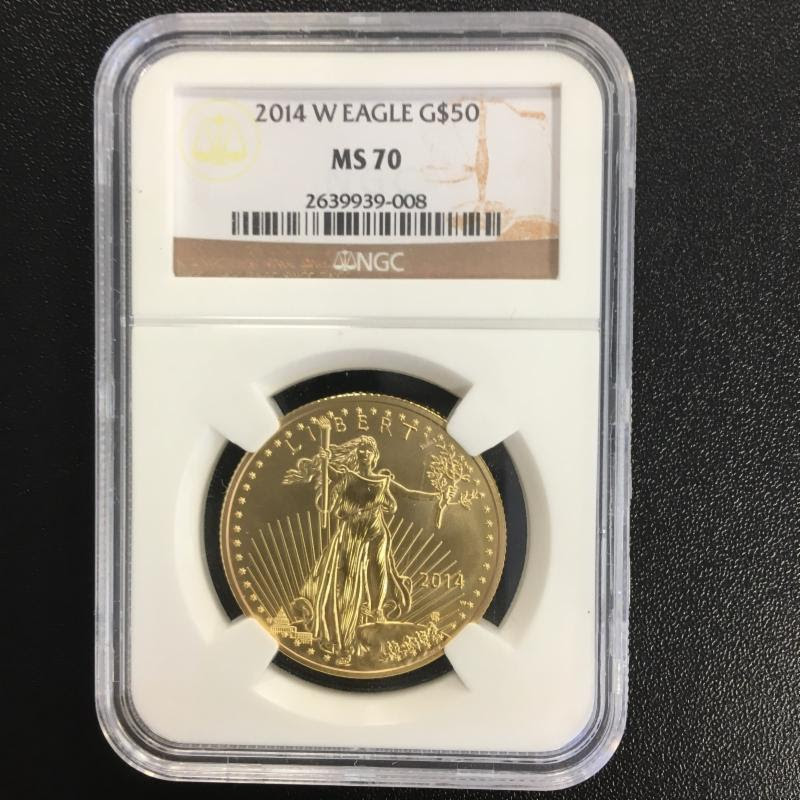 Counterfeit 1oz Gold American Eagle in NGC Holder