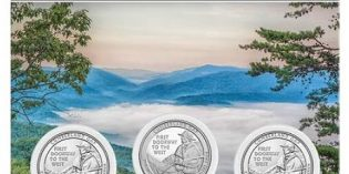 2016 America the Beautiful Quarters Cumberland Gap 3-Coin Set Avail. May 2