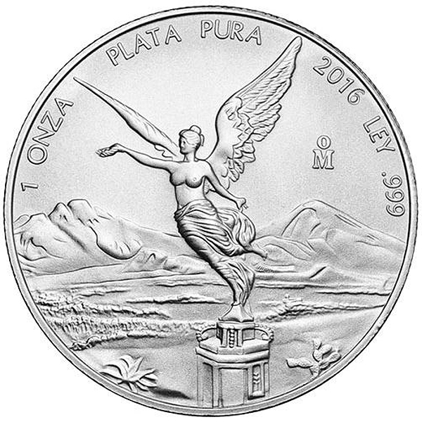 2016 Mexican 1 Oz Silver Libertad Available Now At Jm