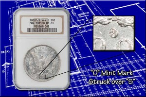 PCGS and NGC designate some popular VAM varieties on the holder tag. This tag lists this VAM as one of the TOP100.