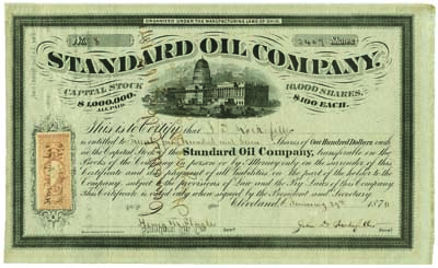 Share of the Standard Oil Company