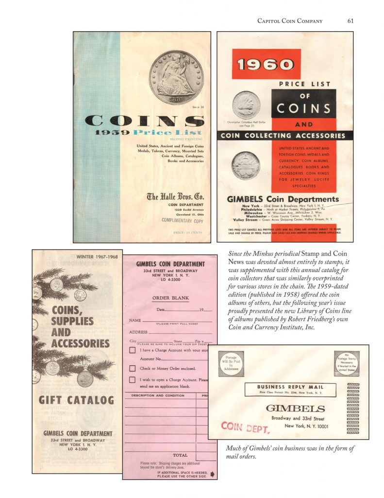 1939 Coin Price List, David W. Lange's Library of Coins