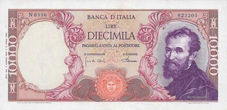 Italy P-197 banknote