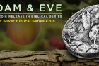 Adam and Eve: Exile from Eden – 3rd 2016 Biblical Series Coin Released