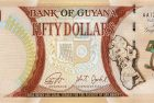 Bank of Guyana Celebrates 50 Years of Natl. Independence with New $50 Banknote