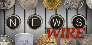 CoinWeek News Wire for May 8, 2016