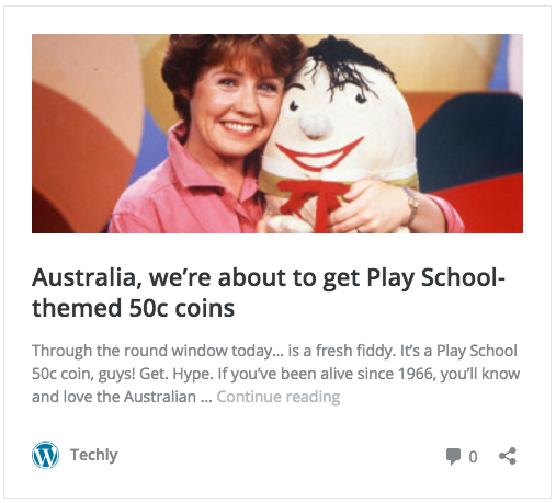 Play School Coins from Perth Mint