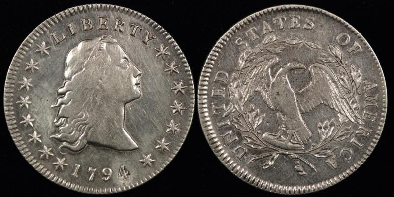 1794{5} BUST $ B5 XF LT.POLISHED