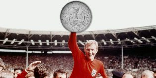Royal Mint 'Strikes Gold' to Remember England's FIFA World Cup™ Triumph 50 Years on