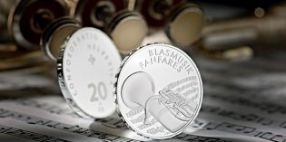 World Commemorative Coins – Swiss 2016 Brass Instrument Silver Coin
