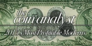 The Coin Analyst: 2015's Most Profitable Modern Coins
