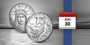 2016 American Eagle Platinum Proof Coin Goes on Sale June 30