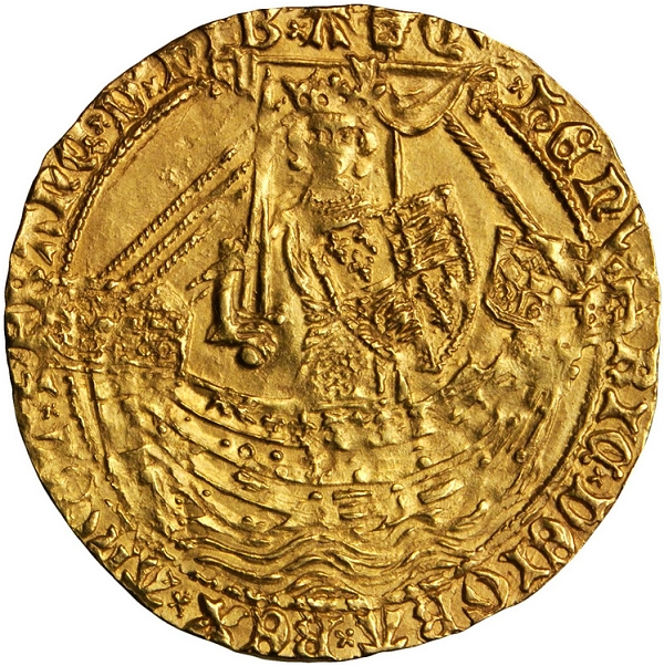 GREAT BRITAIN. Henry IV, 1399-1413. Noble