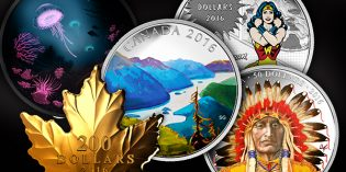 New Royal Canadian Mint Coins Feature Innovative Celebrations of Nature