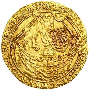Henry IV Gold Noble