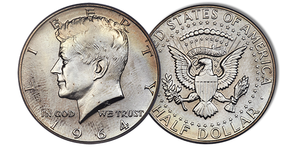 0e0a8932f Rare 1964 SMS Kennedy Half Dollar Sells for  47K