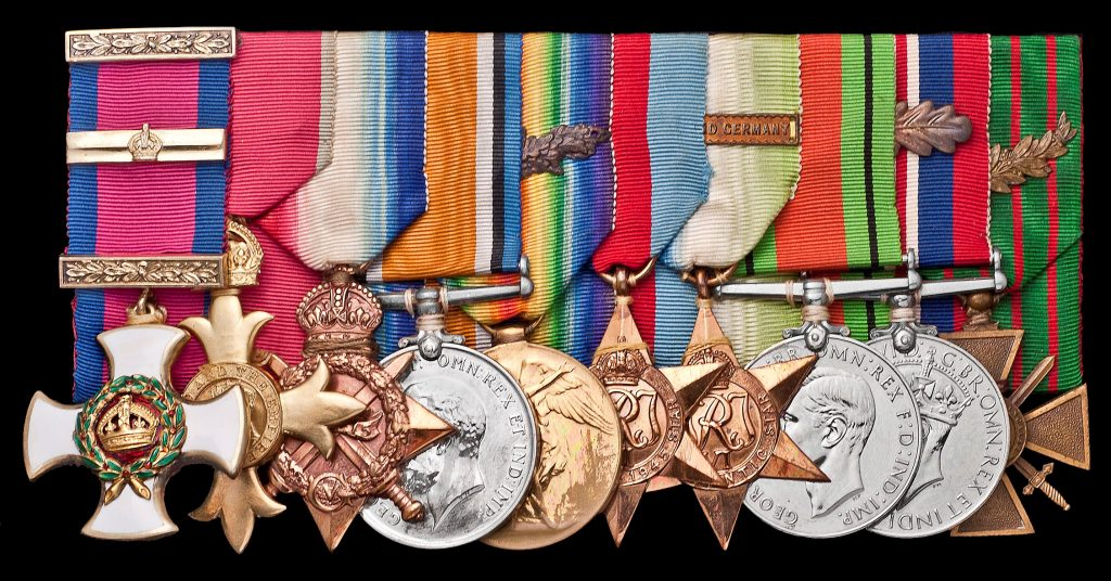 Heaton Medals and Service Awards. Images courtesy Spink USA
