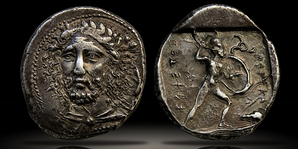LYCIA. Dynasts of Lycia, Perikle (c.375-360 B.C.), Silver Stater