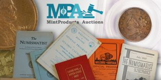 MintProducts Auctions September Sale to Include over 750+ Lots