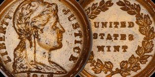 Rare US Coins – Glass Cent Pattern Discovered