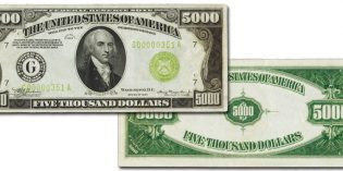 Stack's Bowers US Paper Money – Chicago $5,000 Federal Reserve Note