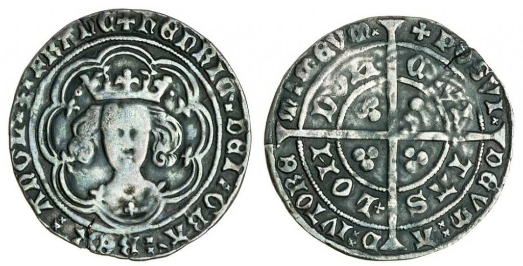 Henry IV (1399-1413) Groat. Images courtesy Spink Auctions