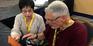 At PAN Fall Show, John Mercanti Views His Latest Finished Coin Design for First Time