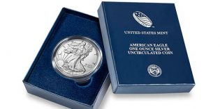 2016 American Eagle 1 Oz Silver Uncirculated Coin Available December 1