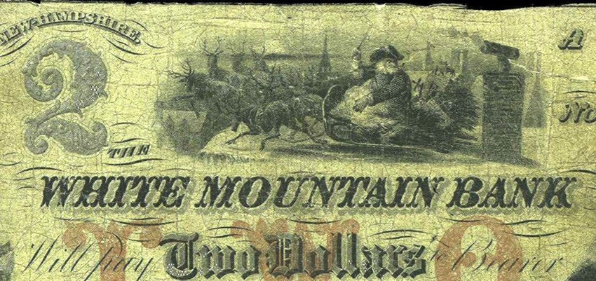 White Mountain Bank, New Hampshire $2. Image courtesy NGC