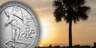2016 Fort Moultrie ATB 5 Ounce Silver Uncirculated Coin Avail. Dec. 8