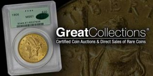 Record Prices for Sierra Madre Gold Collection at GreatCollections