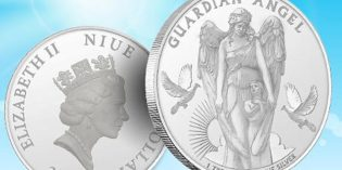 2017 Guardian Angel Silver Coin Inaugurates New Series from Gainesville Coins