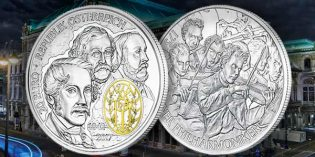 World Coin News – A Brace of Musical Beauties from the Austrian Mint
