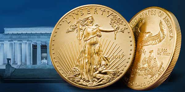 United States 2017 American Gold Eagle Uncirculated Coin
