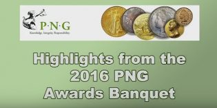 PNG Video – 2016 Professional Numismatists Guild Awards Dinner