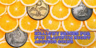 Healthy Prices Realized for FUN Platinum Night Auction Coins