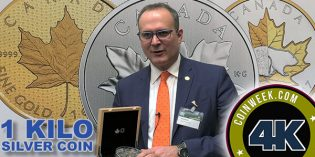CoinWeek Exclusive Video: 1 Kilo Silver Coin Recalls Canada's Numismatic History – 4K Video