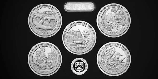 2017 America The Beautiful Quarters Silver Proof Set Goes